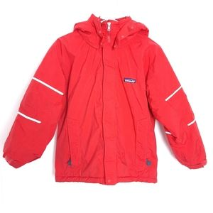 Patagonia kids insulated reflector winter jacket